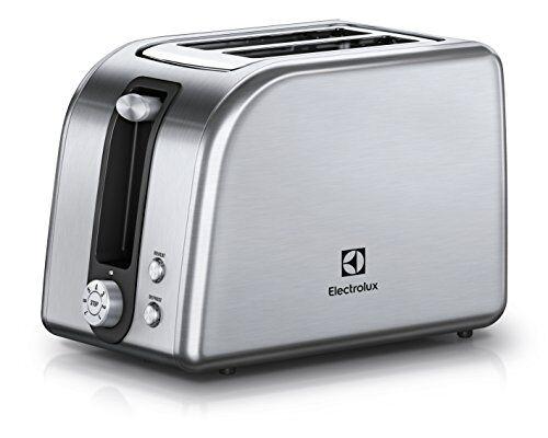 Electrolux EAT7700 Tostapane Plus, 850 W, Acciaio Inox Spazzolato