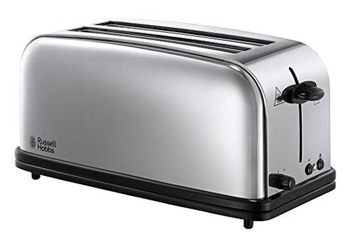 Russell Hobbs 23520-56 Tostapane Lungo In Acciaio Chester, 1200 W