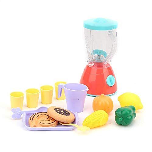 Plyisty Giocattolo di spremiagrumi per bambini in plastica, giocattolo di spremiagrumi interessante, squisita fattura per far giocare i bambini finta di giocare a set di giocattoli(juicer)