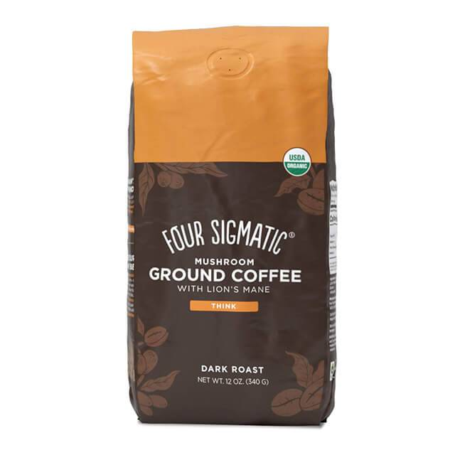 Four Sigmatic Mushroom ground coffee con hericium e chaga - bio - 340g
