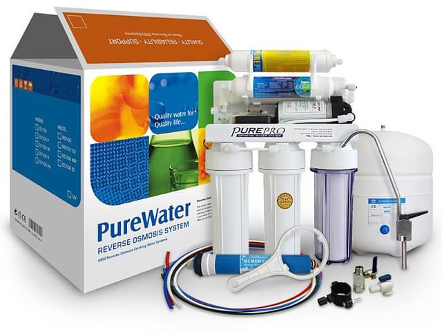 Pure EC-106M-P - Sistema a osmosi inversa con pompa
