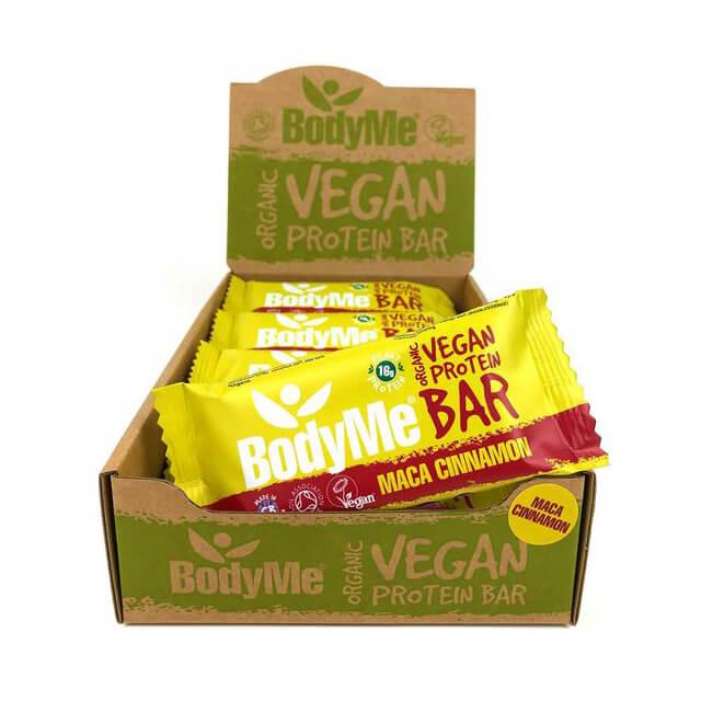 Bodyme Barrette proteiche - maca e cannella - bio - 12 pack