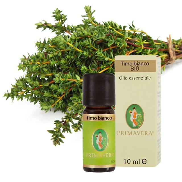 flora timo bianco - olio essenziale - bio - 10ml