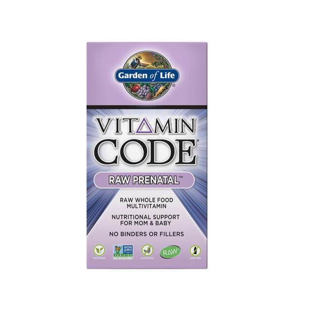 Garden Of Life Vitamin code raw prenatal - multivitaminico prenatale - 30 caps