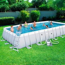piscine italia piscina fuori terra bestway power steel 732 - h 132 cm