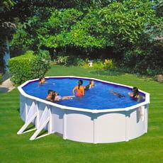 piscine italia piscina fuori terra gre in acciaio ovale 500x300x1,20 bora bora kitprov503