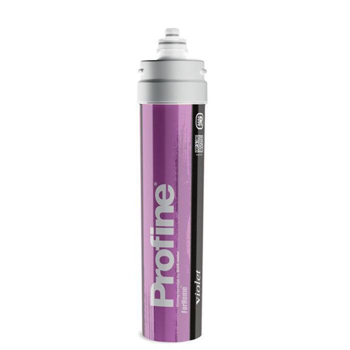 Filtro Profine Violet Medium Riduzione Durezza Temporanea + Carbon Block + Argen
