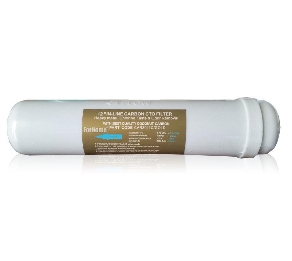 Filtro In Linea Al Carbone Attivo Al Cocco Forhome® Carbon Block Best Quality In