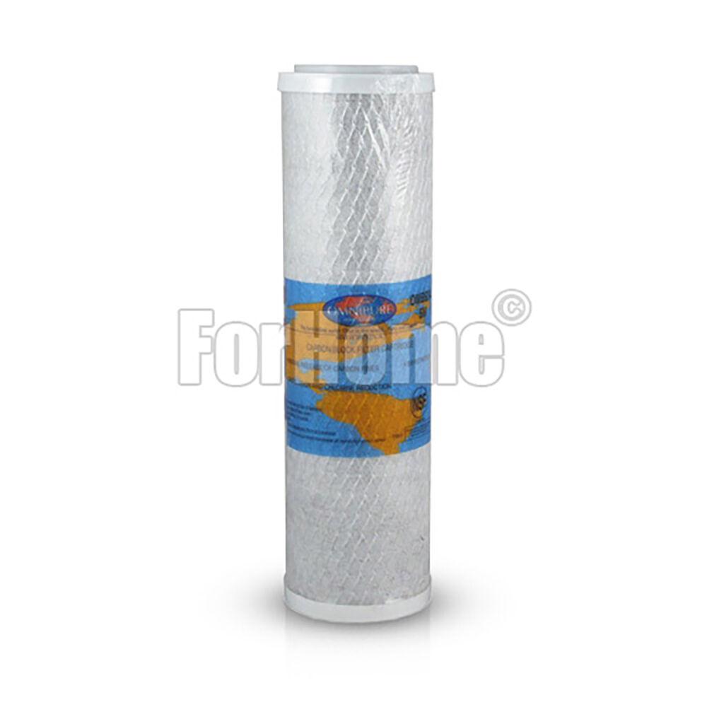 """Omnipure Omb934 5m Cartuccia Carbon Block Al Cocco 2,5""""X9,8"""" - 5 Micron (Or)"""
