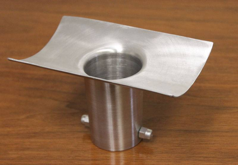 Collegamento In Alluminio Forhome® Per Catena Pioggia A Grondaia Curva