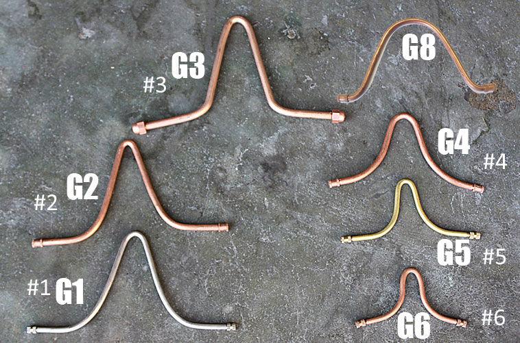 Ganci Di Ricambio Per Connessione Coppe Catene Pioggia Rif. Modelli: 3104