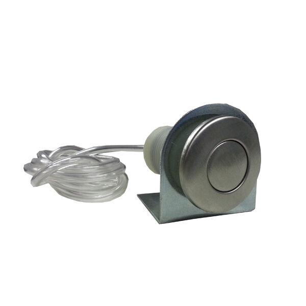 pulsante pneomatico accensione/spegnimento di ricambio abs cromato per tritarifi