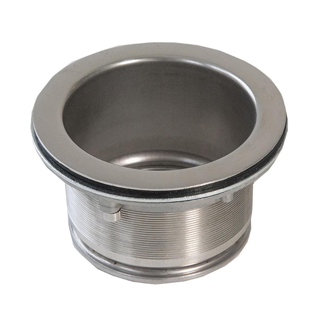 piletta allungata acciaio inox adattatore per tritarifiuti dissipatore zerotrash