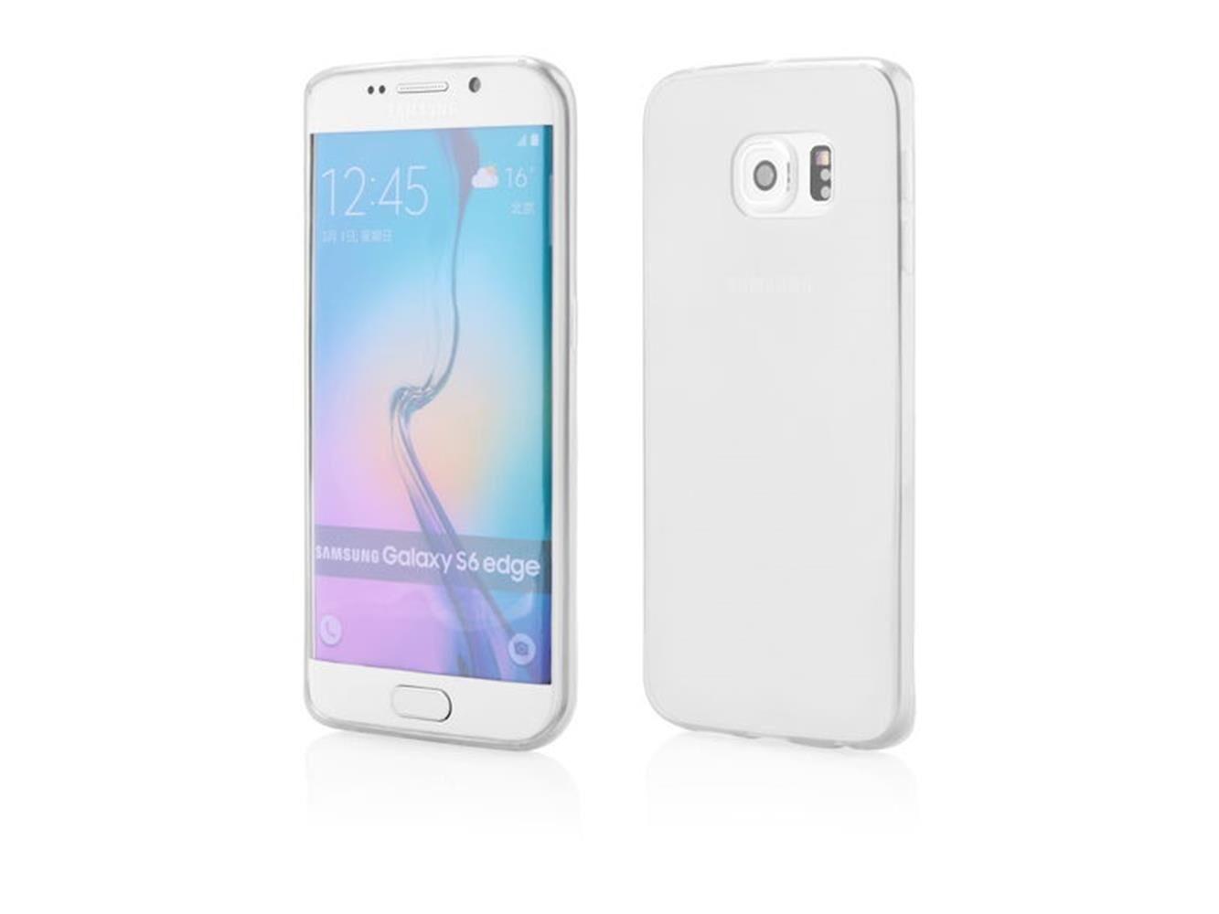 Samsung Custodia Cover Morbida Per Samsung Galaxy S6 Edge Plus