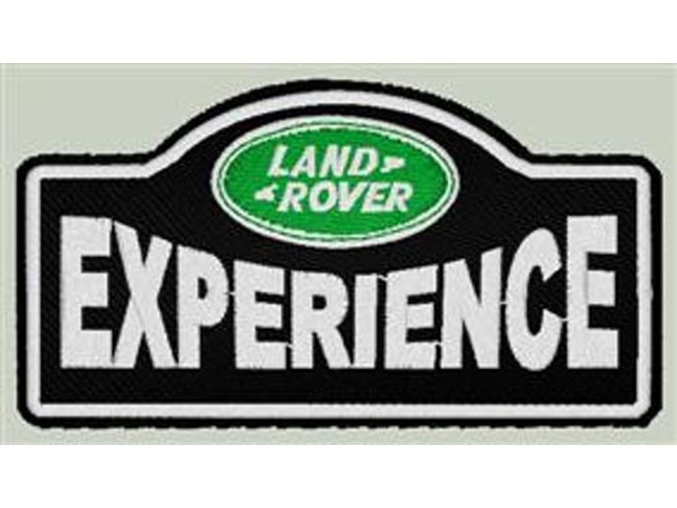 Patch Land Rover - Toppa Termoadesiva