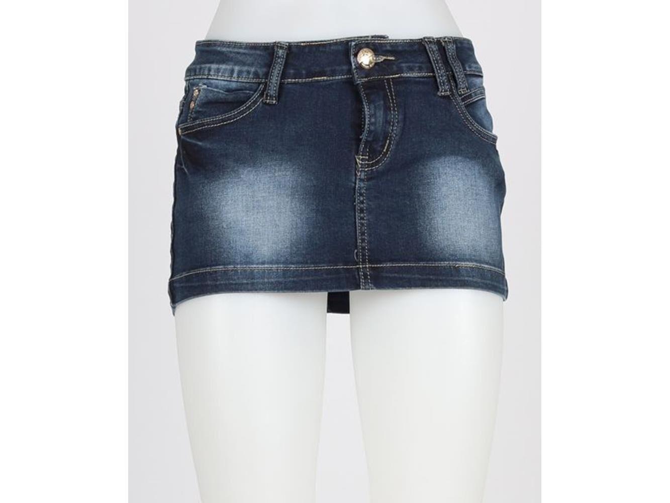 Minigonna Donna Di Jeans