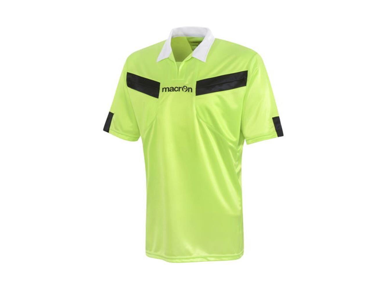 Macron T-Shirt Arbitro Calcio Manica Corta Macron Referee