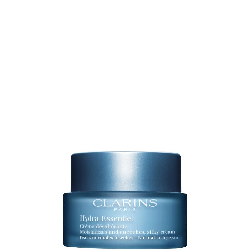 clarins hydra-essentiel crème désaltérante  - pelle normale e secca confezione blue bag hydra