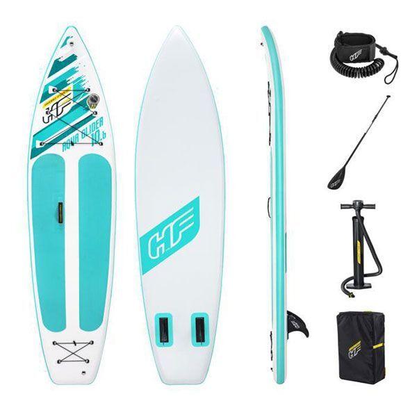 bestway tavola da surf gonfiabile hydro-force aqua glider 320x79x12 cm 65347