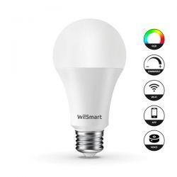 wiismart lampadina led rgb + 2700k wifi smart 6w e27