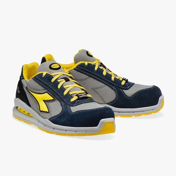 diadora scarpe antinfortunistiche run net airbox low s1p src blu cosmo grigio lunare 701.176217