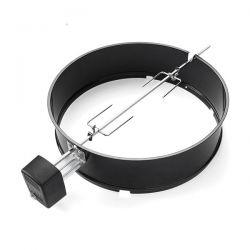 weber girarrosto per bbq a carbone 57 cm 7494