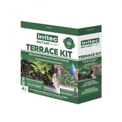irritec irrigazione a goccia di vasi e fioriere terrace kit