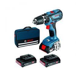Bosch Trapano-avvitatore Gsb 18-2 Li Plus 3 Batterie