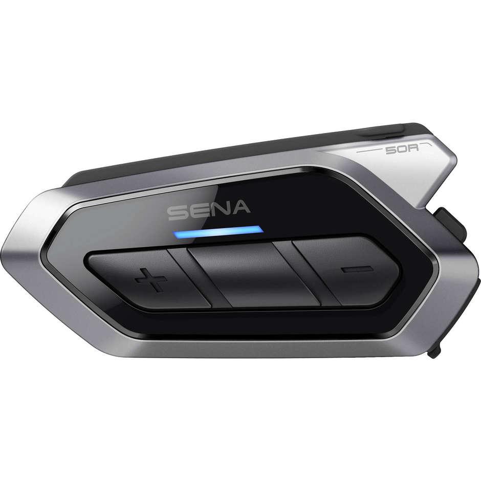 sena interfono moto bluetooth sena 50r singolo con collegamento mesh intercom 2.0