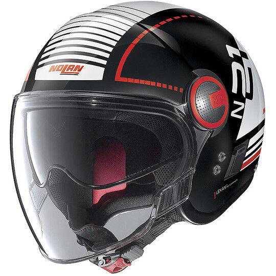 Nolan Casco moto jet nolan n21 visor runabout 057 nero lucido