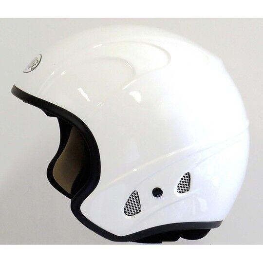 Premier Casco moto jet premier free evo eko in fibra bianco lucido