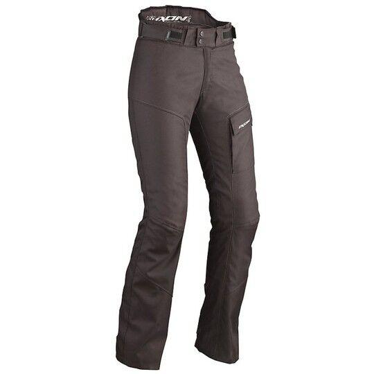 Ixon Pantalone moto in tessuto ixon summit lady nero