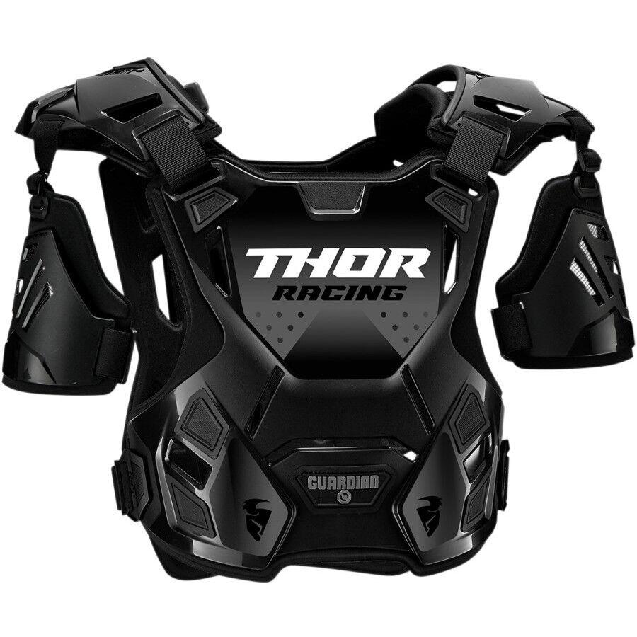 Thor Pettorina moto cross enduro thor guardian roost guard s20 deflectorn nero