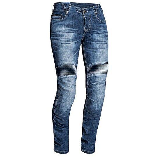 Ixon Jeans moto da donna tecnici ixon denerys lady stonewash