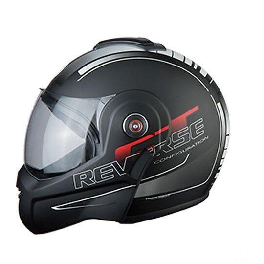 bhr casco moto flip-up bhr 807 reverse cool nero