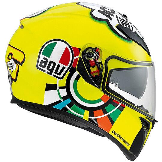 Agv Casco moto inetgrale agv k-3 sv pinlock top misano 2011