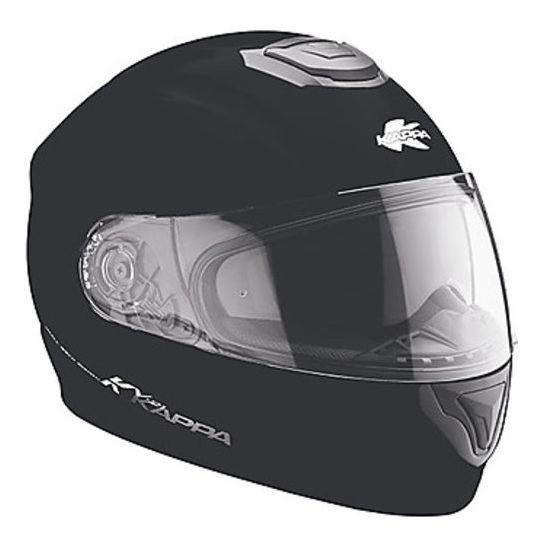 Kappa Casco moto integra kappa kv21 toledo doppia visiera nero opaco