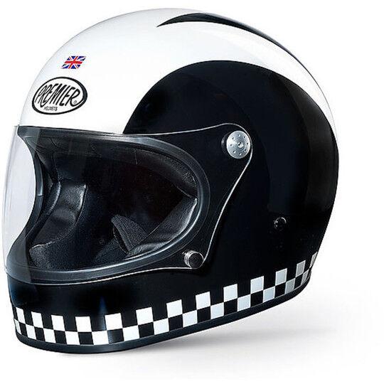 Premier Casco moto integrale premier trophy stile anni 70 colorazione retrò
