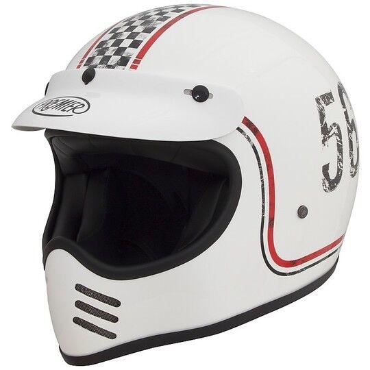 Premier Casco moto integrale premier trophy style anni 70 mx fl 8