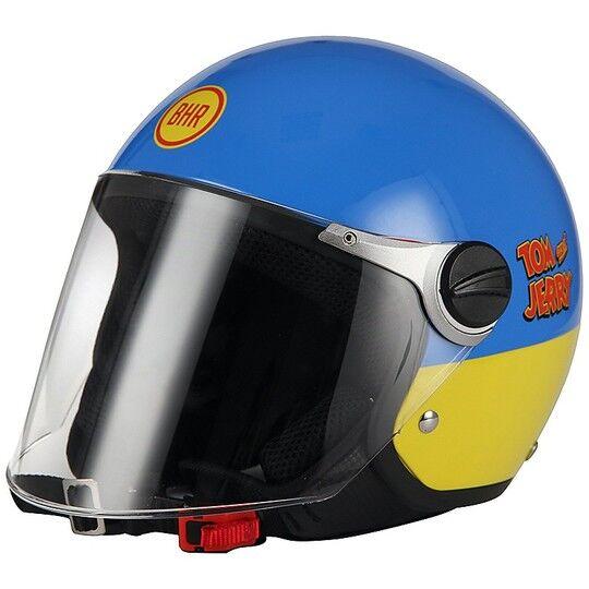 Bhr Casco moto jet bambino bhr 713 warner bros tom & jerry