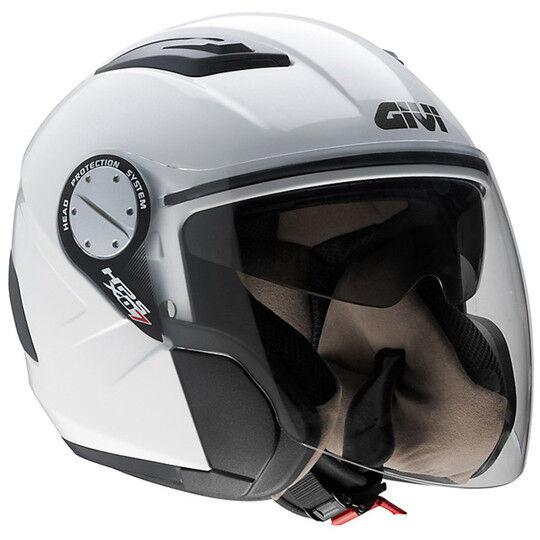 givi casco moto jet givi modello x.07 comfort-j bianco
