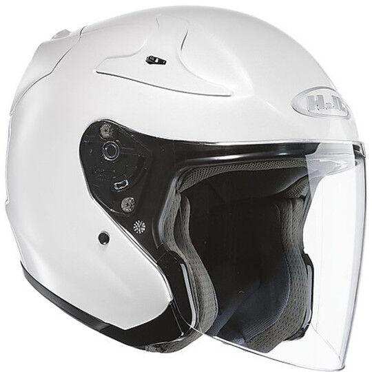 Hjc Casco moto jet hjc rpha jet bianco perla ryan