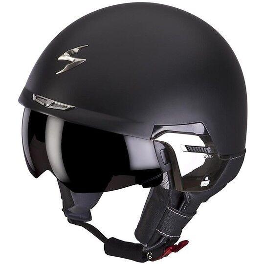 scorpion casco moto jet scorpion exo-100 padova ii nero opaco