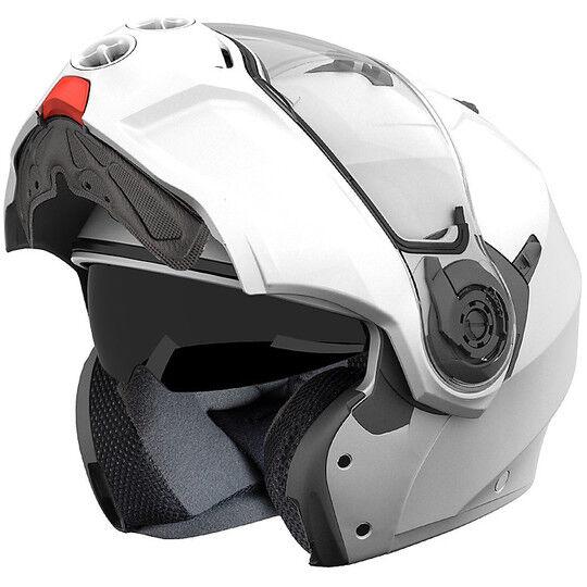 Caberg Casco moto modulare caberg droid bianco metal