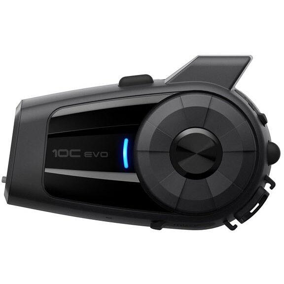 sena interfono moto bluetooth sena 10c evo con videocamera integrata singolo