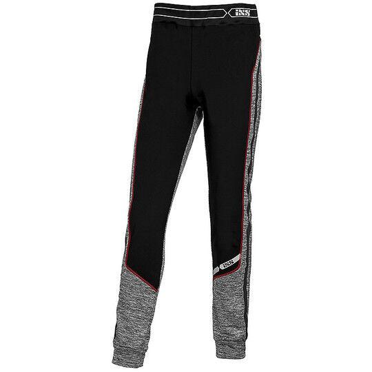 ixs pantalone intimo in pile ixs ice 1.0 nero grigio rosso