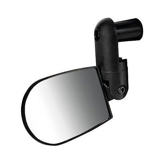 lampa specchietto singolo moto da manubrio lampa 93354 nero