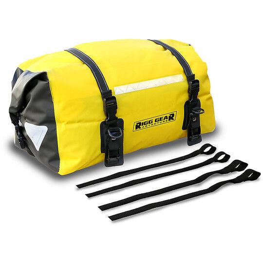 nelson-rigg borsa rullo da sella o portapacchi nelson-rigg sahara dry gialla 40 lt