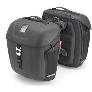 Givi Coppia borse moto laterali givi mt501 multilock metro t-range 18 lt espandibile