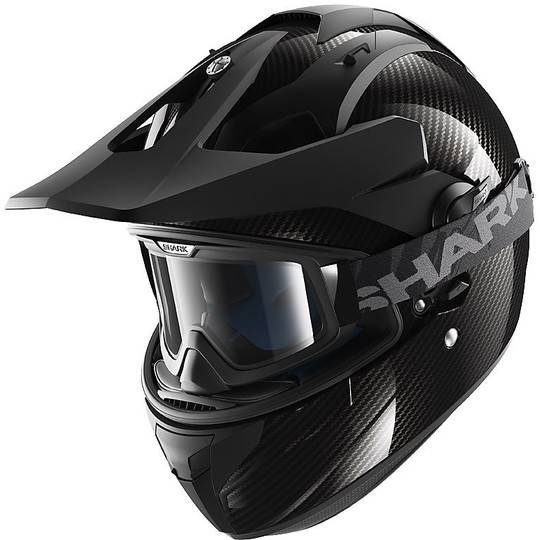 Shark Casco moto integrale cross enduro shark explore-r carbon skin